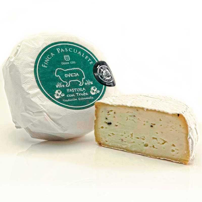 queso-pascualete-pastura-trufa-Tienda-LaMinerva-Restaurante-Taperia-Caceres